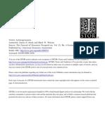 Vector Auto Regression