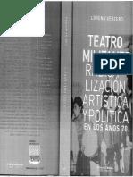 Lorena Verzero Teatro Oficial y Militante en Los 70