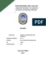 Silabus Aditivos y Colorantes 2017-B
