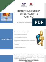 Clase de Inmononutricion