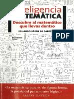 Inteligencia Matemática - Eduardo Sáenz