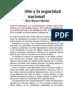 El Pueblo y La Seguridad Nacional Ruy Marini