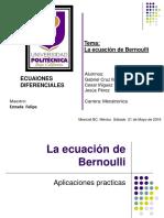 Presentacion 01 Ecuacion de Bernoulli.pptx