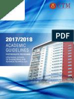 UTM Razak School Academic Guideline Postgraduate Programme 1 1