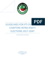 Guidelines for International Intra-Party elections