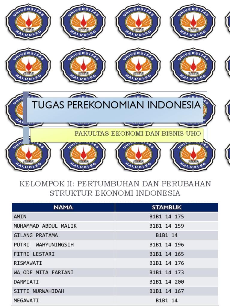 Tugas Perekonomian Indonesia Teori Ekonomi Makro Pratama 1540065003v1
