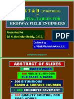 Venkat_MoRTH 5th Revision Essential Tables for Highway Field Engineers