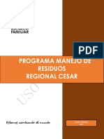 Icbf Programa Manejo de Residuos Regional Cesar