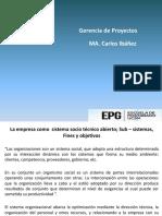 1. La Empresa como Sistema socio técnico abierto; sub sist fines y obj.pdf