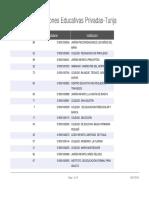 listado de instituciones  educativas privadas tunja ( Boyacà)