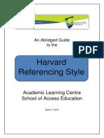 Harvard Guide T1 2018