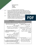 KD3 KD4 Bahasa Arab MTs