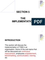 Chapter 5 -The Implementation