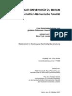 Julia Jahnke - Guerrilla Gardening (Master Thesis, german)