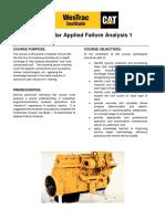 Applied Failure Analysis 1 NSW