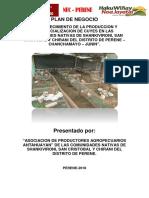 Plan de Negocio Pecuario-foncodes