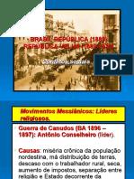 BRASIL REPÚBLICA-Revoltas Sociais (1889).ppt