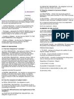 Gen Provision Summary