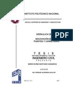 HIDRAULICA DE RIOS, SOCAVACION EN RIOS, PUENTES Y CARRETERAS.pdf