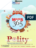 Vision Mains 365 2018 Polity