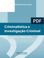 Apostila Criminalística