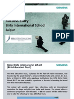 Birla International School -Success Story