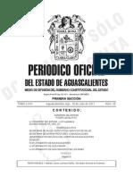 Periodico Oficial Primera Secc
