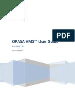 Opasa Vms User Guide v1.0