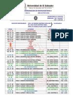 Programacion de Microanatomia II 2018