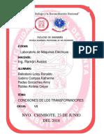 Conexiones de Los TransformadoresTrifásicos - Grupo 3 - UNS- Energía (1)