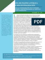 Nota de política pública de CRECIMIENTO ECONÓMICO SOSTENIBLE Y EMPLEO