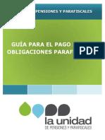 Guía de Pagos Obligaciones Parafiscales_comunicaciones