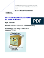 NO.HP:0822-5705-4455(TELKOMSEL), BELI ALAT PENETAS TELUR