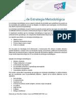 Protocolo Para La Elaboración de Estrategias Metodológicas