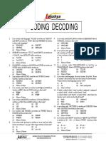 Coding Sheet 1