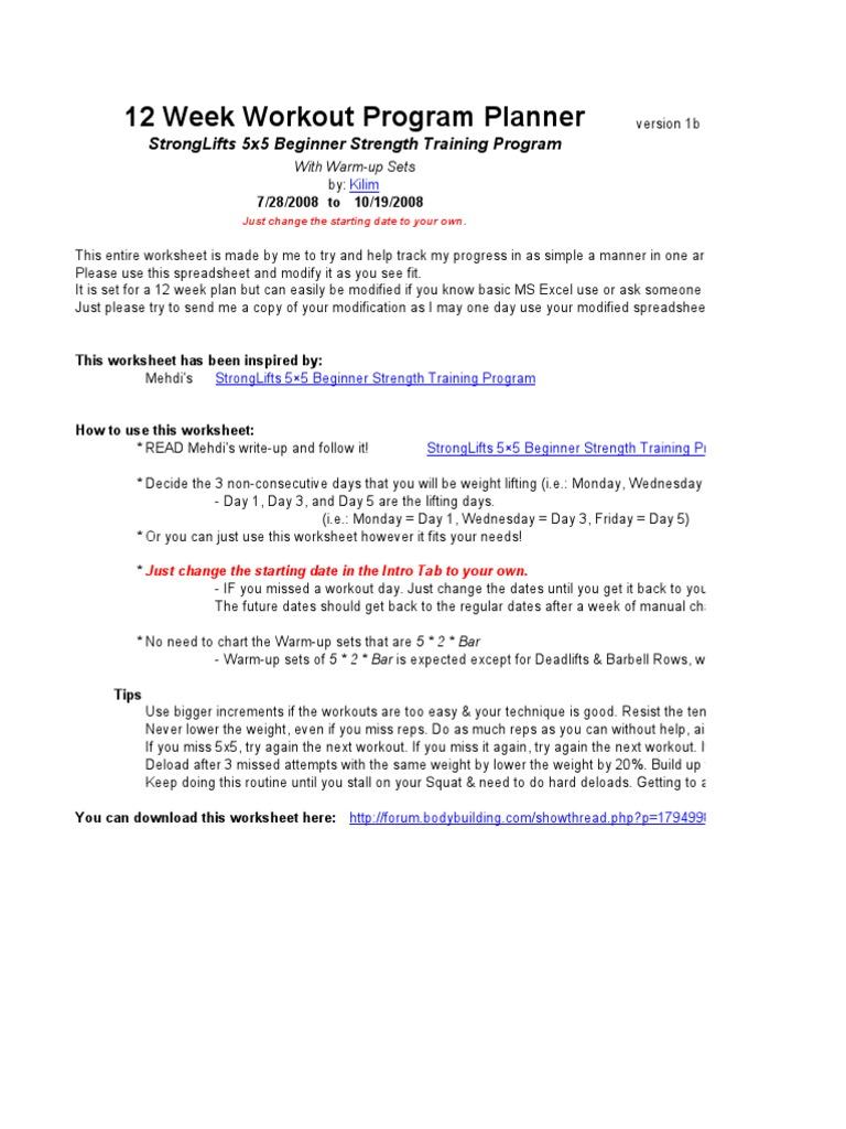 StrongLifts-5x5 | Obesidad | Índice de masa corporal