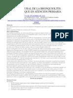 Historia Natural de La Bronquiolitis Aguda