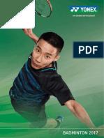 Yonex Badminton Catalog 2017