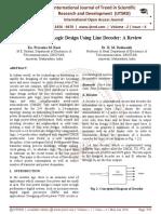 Low Power Mix Logic Design Using Line Decoder