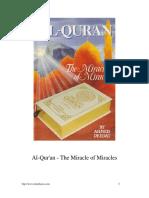 Al-Quran - The Miracle of Miracles [ deedat].pdf