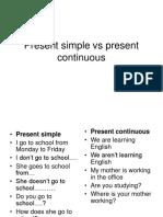 Present simple vs present continuous.ppt