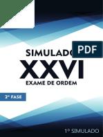 1º Simulado 2º Fase XXVI Direito Empresarial