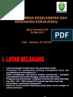 Kelembagaan P2K3