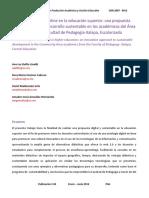 La Antología Digital Online en La Educación Superior