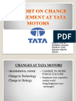 changed management in TATA MOTORS