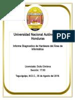 Diagnostico de Hardware Seccion 1700