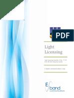 Eband Light Licensing White Paper V051310