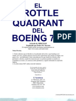 Throttle Quadrant 737 ES