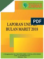 Cover Laporan K3 Maret 2018