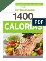 Plan Nutricional 1400